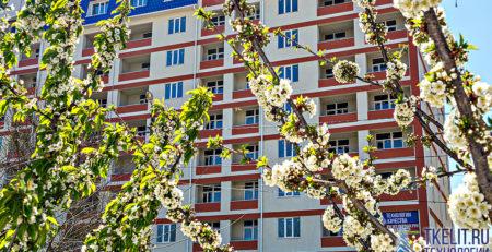 Динамика строительства апрель 2020 ЖК Санаторный Саки Крым